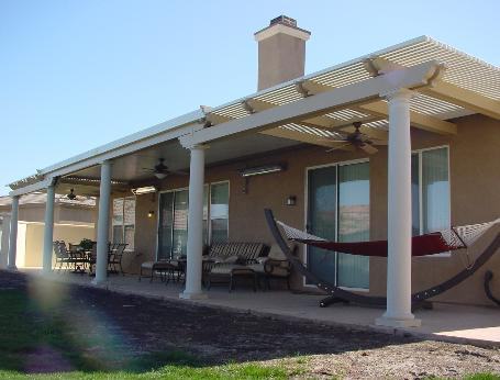 Alumawood patio covers llc combination do it yourself kits for Do it yourself patio covers